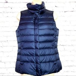 Timberland Goose Down Vest in Blue Women's Small